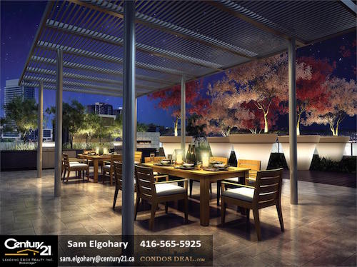 Parfait at Atria Condos Rooftop Rendering