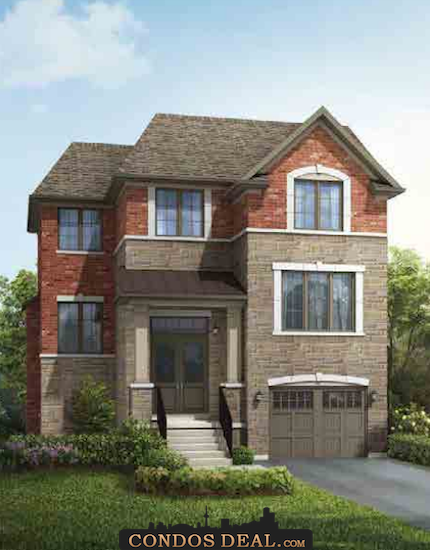 Park Place On Patricia Homes Rendering 2