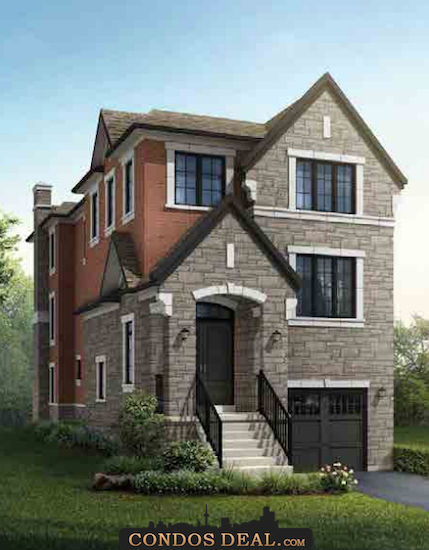 Park Place On Patricia Homes Rendering 4