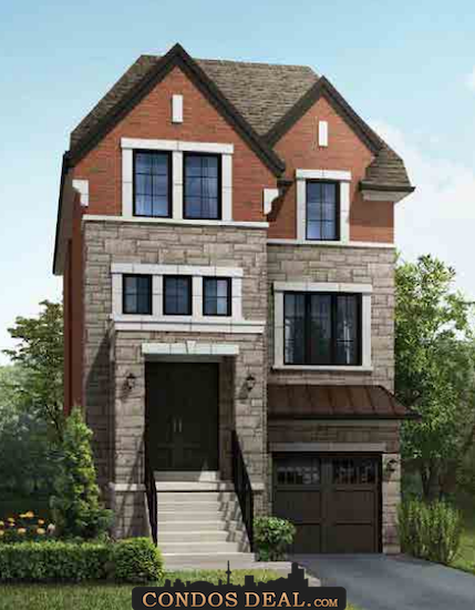 Park Place On Patricia Homes Rendering 6