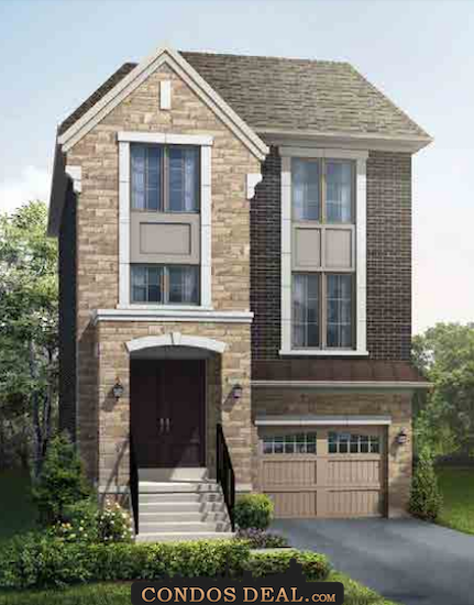 Park Place On Patricia Homes Rendering