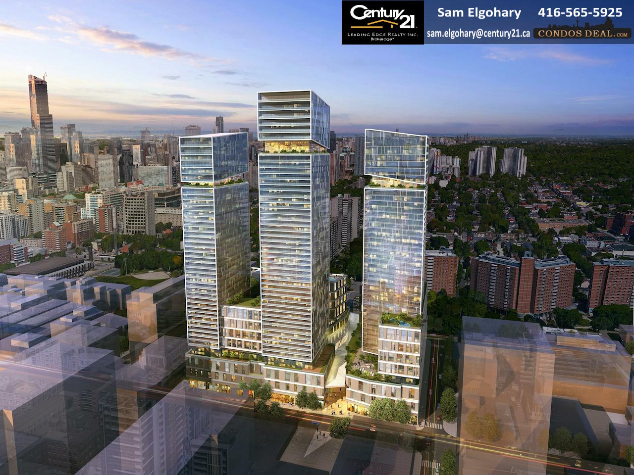 245 Queen East Rendering