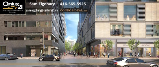 Queen & Sherbourne Condos Rendering 2