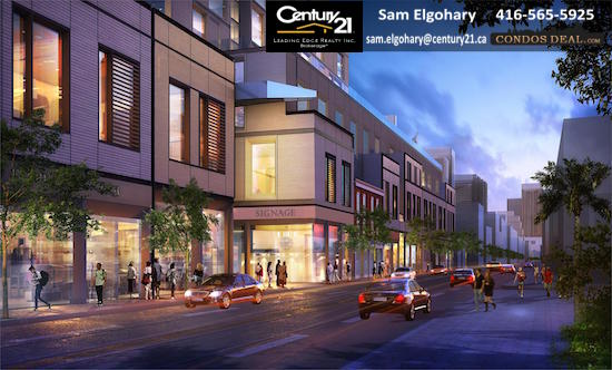Queen & Sherbourne Condos Rendering 4
