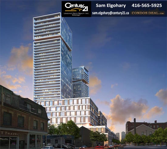 Queen & Sherbourne Condos Rendering 8