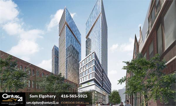Queen & Sherbourne Rendering