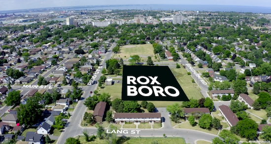 Roxboro Towns Map
