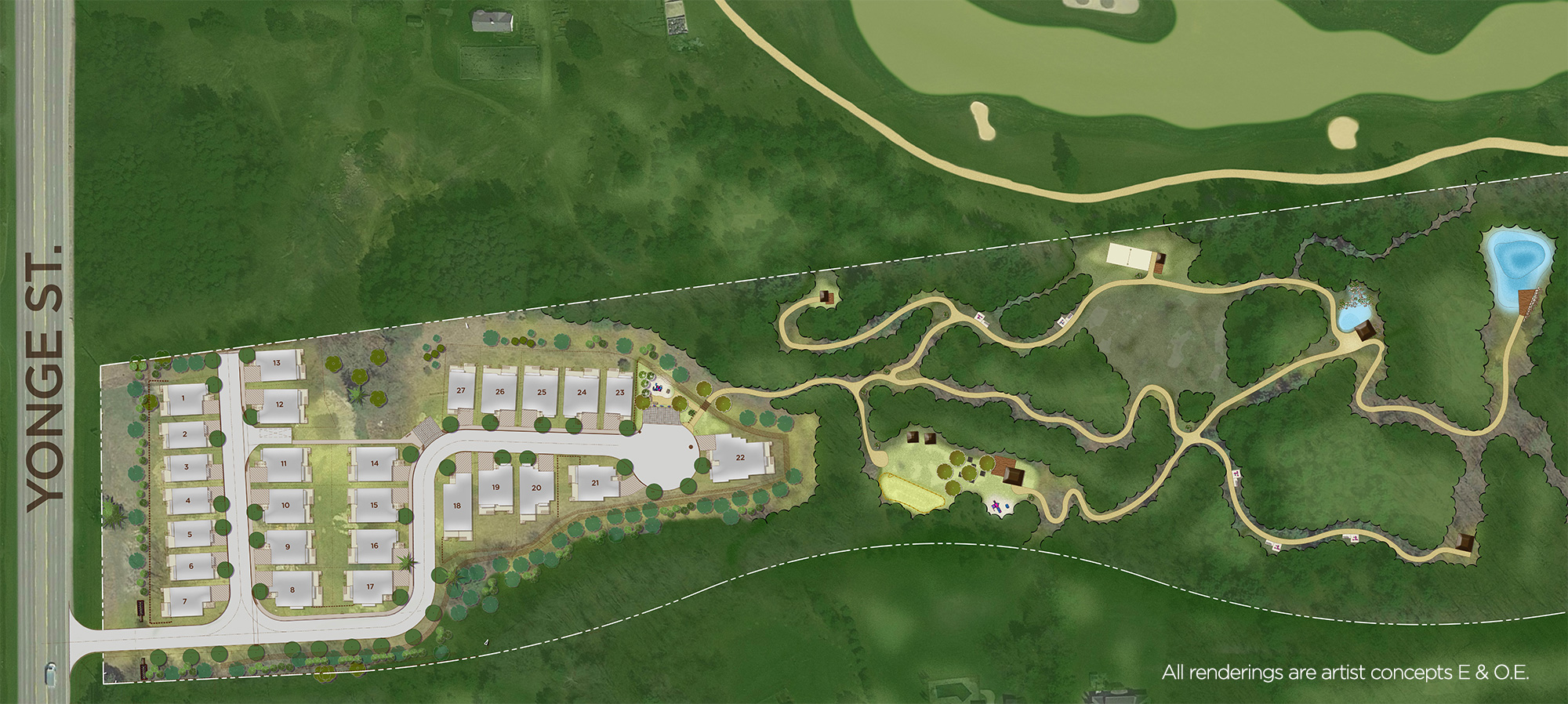 Royal Hill Homes Site Map