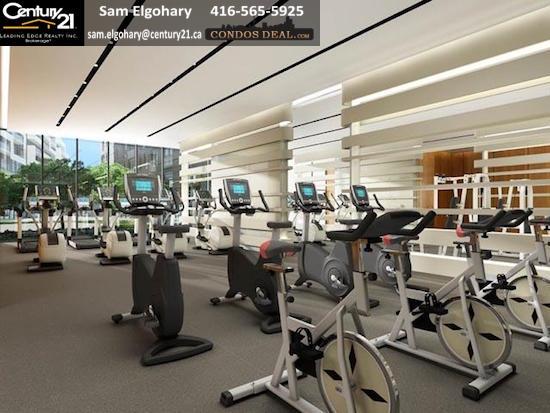 Scala Condos Fitness Centre