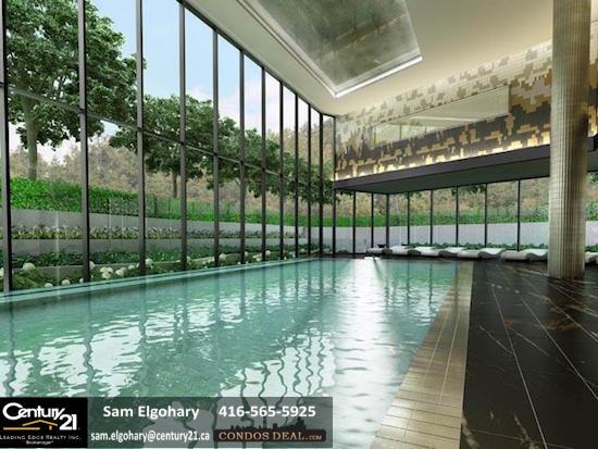 Scala Condos Indoor Pool