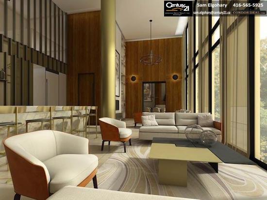 Scala Condos Party Lounge