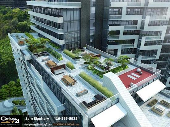 Scala Condos Rooftop