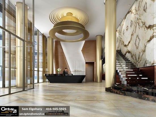 Scala Condos Toronto Lobby