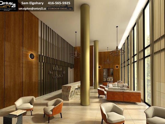 Scala condos Lounge