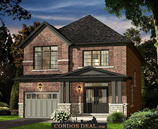 Sharon Village Towns & Homes Rendering 2