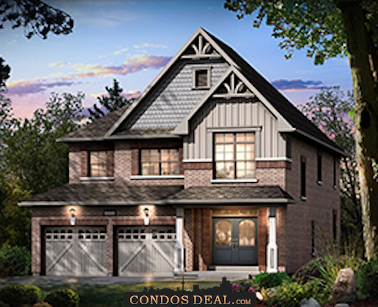 Sharon Village Towns & Homes Rendering 4