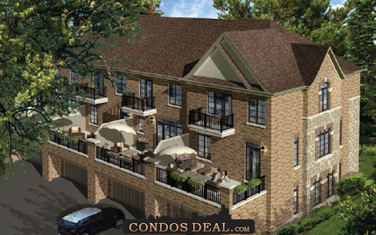Sharon Village Towns & Homes Rendering
