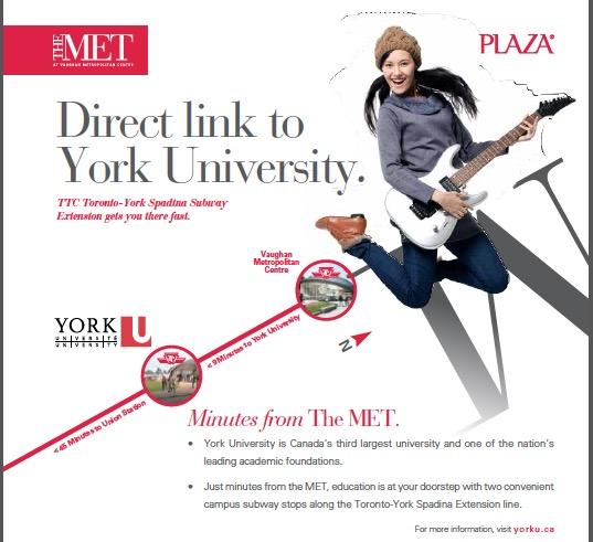 The Met Condos- Yourk University