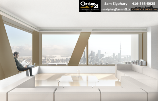 The One Condos Suite Rendering