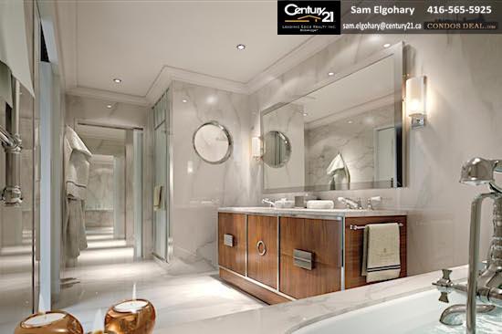 The Ritz-Carlton Residences Sunny Isles Beach 05 Render 8 - Master Bathroom Unit 05