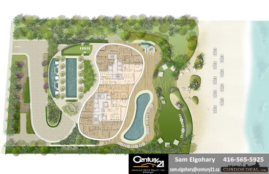 The Ritz-Carlton Residences Sunny Isles Beach Site Plan