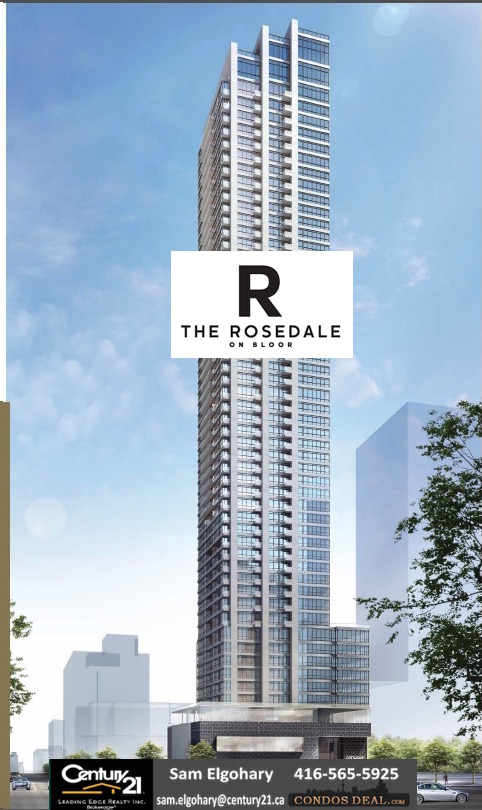 The Rosedale On Bloor- the building