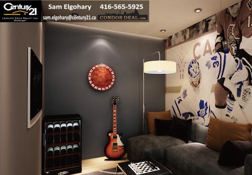 U Plus Condos Living Room
