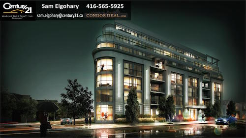 Upper Beach Club Condos rendering 2