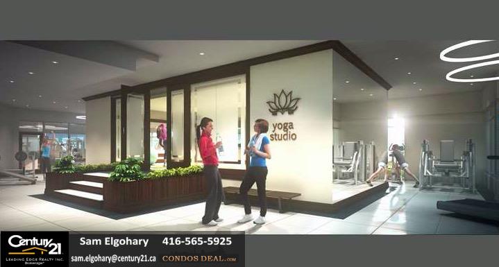 Upper Vista Condos Yoga Studio