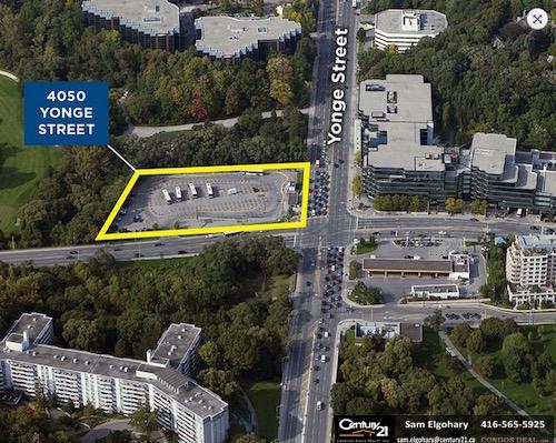 Yonge Park Plaza Condos Site Map