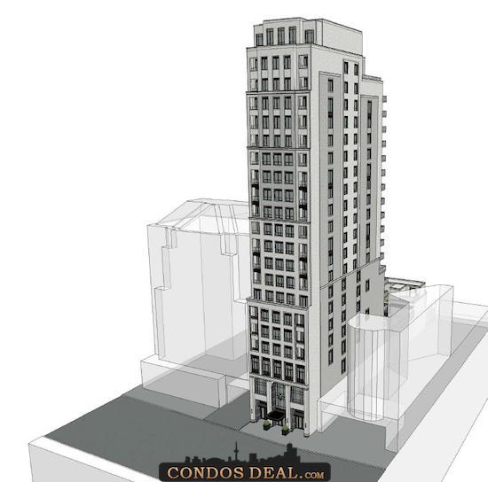 89 Avenue Road Condos Rendering