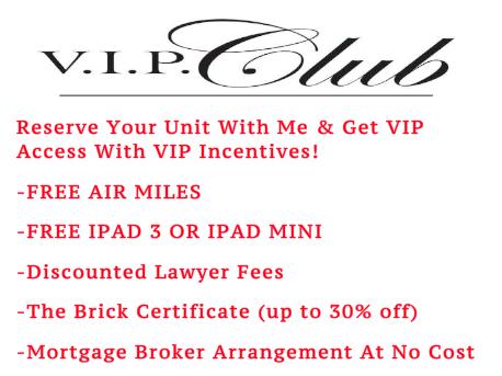 VIP Club Incentives