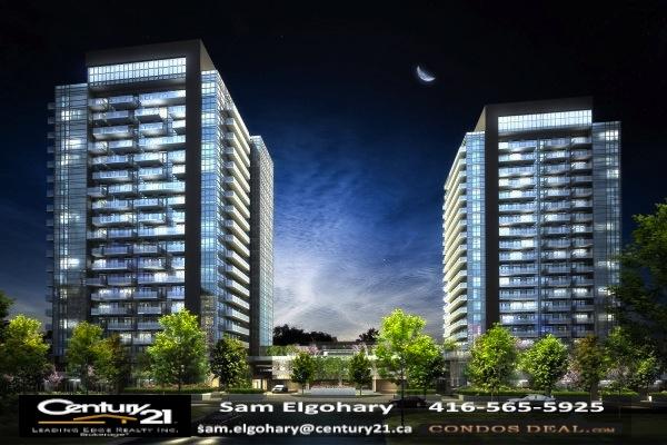 Sky City Condos Building Rendering