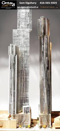 Mirvish+Gehry Toronto Condos Rendering