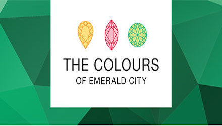 The colours of Emerald city