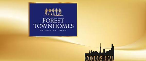 Forest Townhomes on Dufferin Creek