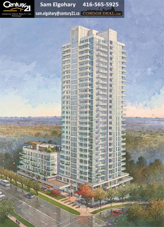 The Ravine Condos- Building Rendering