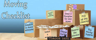 Moving Check List & Tips