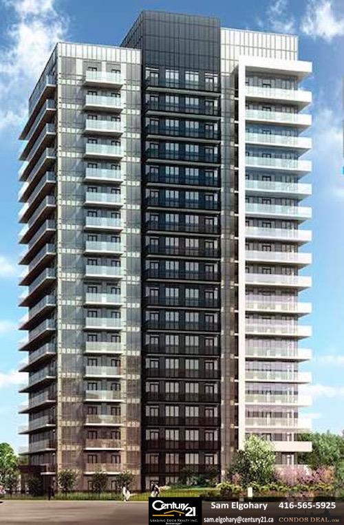 Downtown Erin Mills Tower 2 Rendering