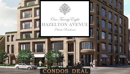 One Twenty Eight Hazelton Avenue