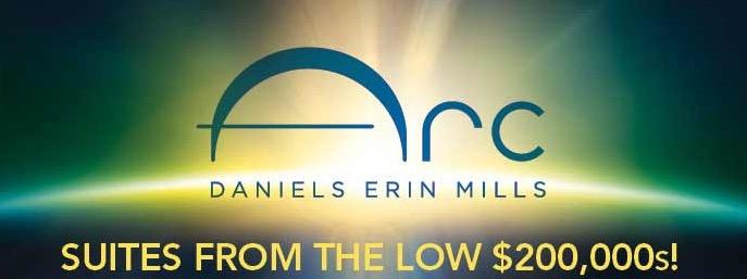 Arc Condo at Daniels erin mills