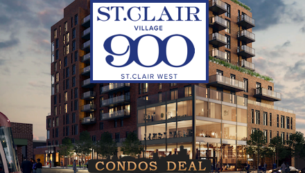 St. Clair Village at 900 St Clair West Condos
