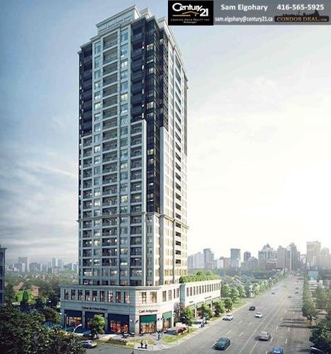The Vanguard Condo Rendering