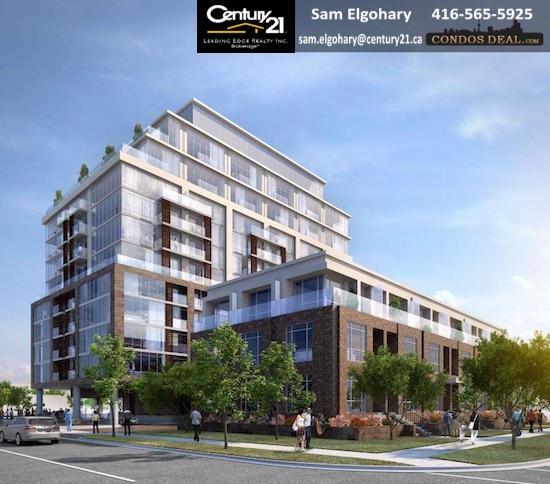 245 Sheppard Avenue West Condos Rendering 2