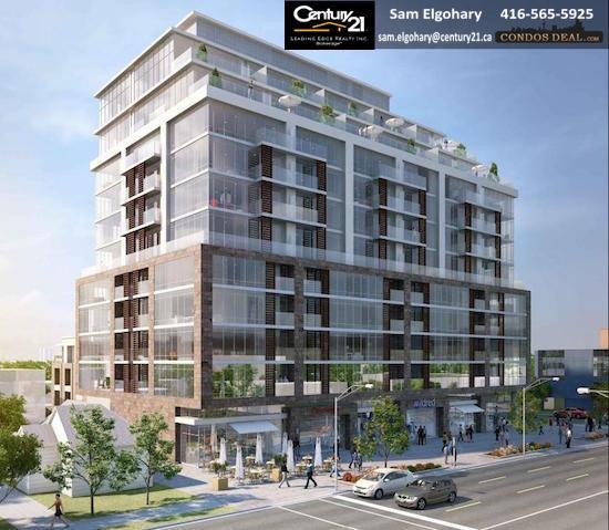 245 Sheppard Avenue West Condos Rendering
