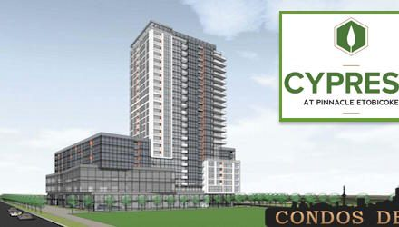 Cypress at Pinnacle Etobicoke Condos www.CondosDeal.com