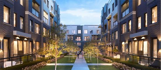 The Way Urban Towns Courtyard