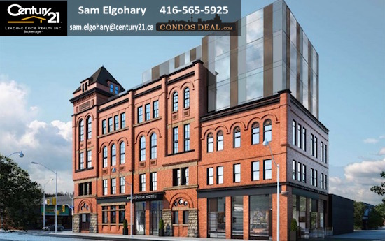 The Broadview Hotel www.CondosDeal.com Rendering