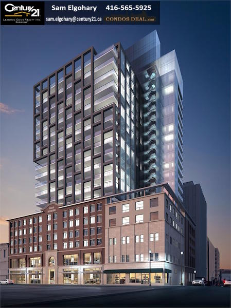 The Roy Condos Rendering