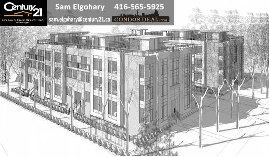 127 Finch Avenue East Townhomes Rendering